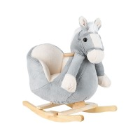 Kikka Boo Baby rocker Little horse, grey
