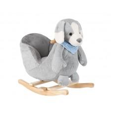 Kikka Boo Дървена люлка със седалка Куче