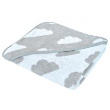 Kikka Boo Clouds Hooded Towel