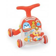 Kikka Boo Baby warker 2 in 1 Wobble Fun, Orange