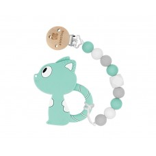 Kikka Boo Soother Chain and teether Cat
