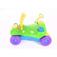 Kikka Boo Детска количка за яздене 2 в 1 зелена