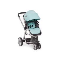 Kikka Boo Бебешка комбинирана количка Amica 2 в 1 с трансформираща седалка мента