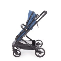Kikka Boo Бебешка комбинирана количка Amulett 2 в 1 с трансформираща седалка синя