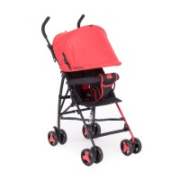 Kikkaboo Лятна бебешка количка Fresh червена