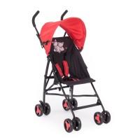 Kikkaboo Лятна бебешка количка Sunny червена