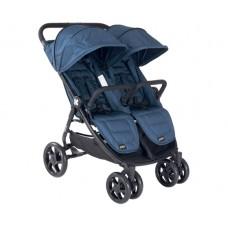 Kikka Boo Happy 2 Twin Stroller Blue