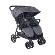 Kikka Boo Бебешка количка за близнаци Happy 2 Grey