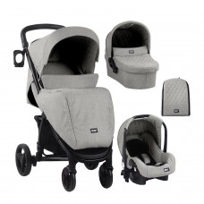 Kikka Boo Madrid 3 in 1, Light Grey Melange 2020