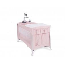 Kikka Boo Travel cot Dessine Moi Pink