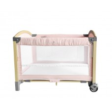 Kikka Boo Travel cot Tender, pink