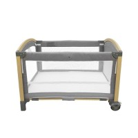 Kikka Boo Travel cot Tender, light grey