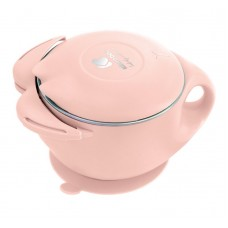 Kikka Boo Купа с резервоар от неръждаема стомана 400 мл Cat, розова