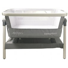 Kikka Boo Travel cot Nanna Light Grey Melange aluminium