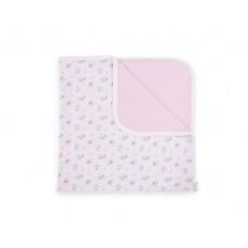 Kikka Boo Pink Flowers Baby summer blanket