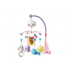Kikka Boo Musical Mobile Bear on moon pink