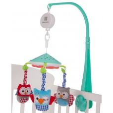 Kikka Boo Musical Mobile Owls, mint