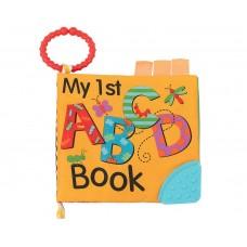 Kikka Boo Образователна книжка с чесалка ABC