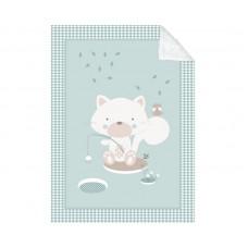 Kikka Boo Baby blanket Polar Fisher 110/140, mint