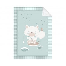 Kikka Boo Baby blanket Polar Fisher 80/110, mint
