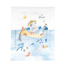 Kikka Boo Duvet cover for baby cot, The Fish Panda
