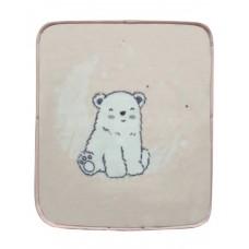 Kikka Boo Baby Blanket Baby Sac Pink Polar Bear