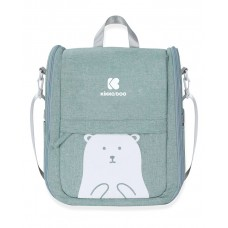 Kikka Boo Travel bed and Bag 2-in-1 Bear, mint