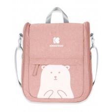 Kikka Boo Travel bed and Bag 2-in-1 Bear, pink
