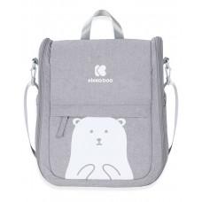 Kikka Boo Travel bed and Bag 2-in-1 Bear, grey
