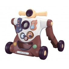 Kikka Boo Baby walker - scooter 4 in 1 Robo, beige