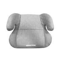 Kikka Boo Booster Car seat Groovy Isofix 15-36 kg, light grey