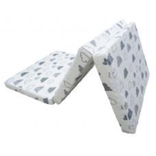 Kikka Boo Bamboo Foldable mattress Fluffy Clouds