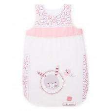 Kikka Boo Baby Sleeping Bag Pink Bunny 0-6