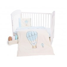 Kikka Boo Baby 5-elements Bedding Set Puppy on Balloon