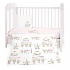 Kikka Boo Baby 3-elements Bedding Set Day in Paris