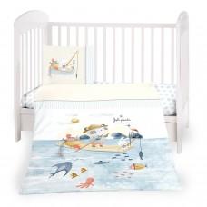 Kikka Boo Baby 3-elements Bedding Set The Fish Panda