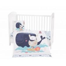 Kikka Boo Baby 5-elements Bedding Set Happy Sailor