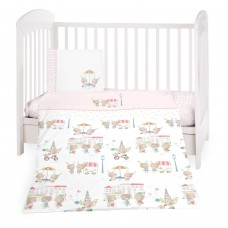 Kikka Boo Baby 5-elements Bedding Set Day in Paris