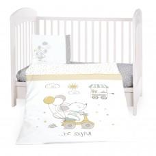 Kikka Boo Baby 5-elements Bedding Set Joyful Mice