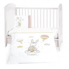 Kikka Boo Baby 5-elements Bedding Set Rabbits in Love