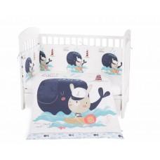 Kikka Boo Baby 6-elements Bedding Set Happy Sailor 70/140