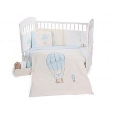 Kikka Boo Baby 6-elements Bedding Set Puppy on Balloon 60x120