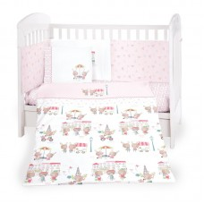 Kikka Boo Baby 6-elements Bedding Set Day in Paris 70/140