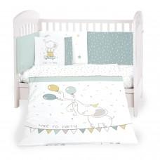 Kikka Boo Baby 6-elements Bedding Set Elephant Time 60x120