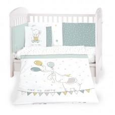 Kikka Boo Baby 6-elements Bedding Set Elephant Time 70/140