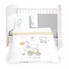 Kikka Boo Baby 6-elements Bedding Set Joyful Mice 60x120