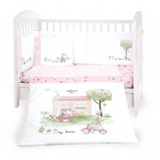 Kikka Boo Baby 6-elements Bedding Set My Home 60x120