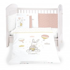 Kikka Boo Baby 6-elements Bedding Set Rabbits in Love 60x120