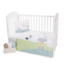 Kikka Boo Baby 5-elements Bedding Set Cat Lovely Day
