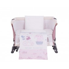 Kikka Boo Baby 5-elements Bedding Set My little bear pink
